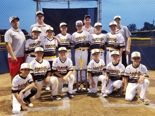 11u Summer Champions! Winners of Weeklong Cal Ripken Tournament!