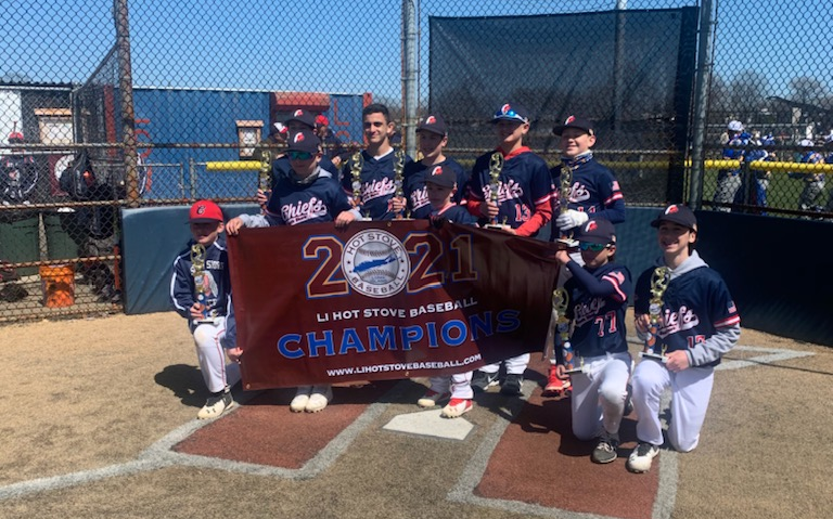 South Shore Chiefs Spring Blast 12u National Champions!