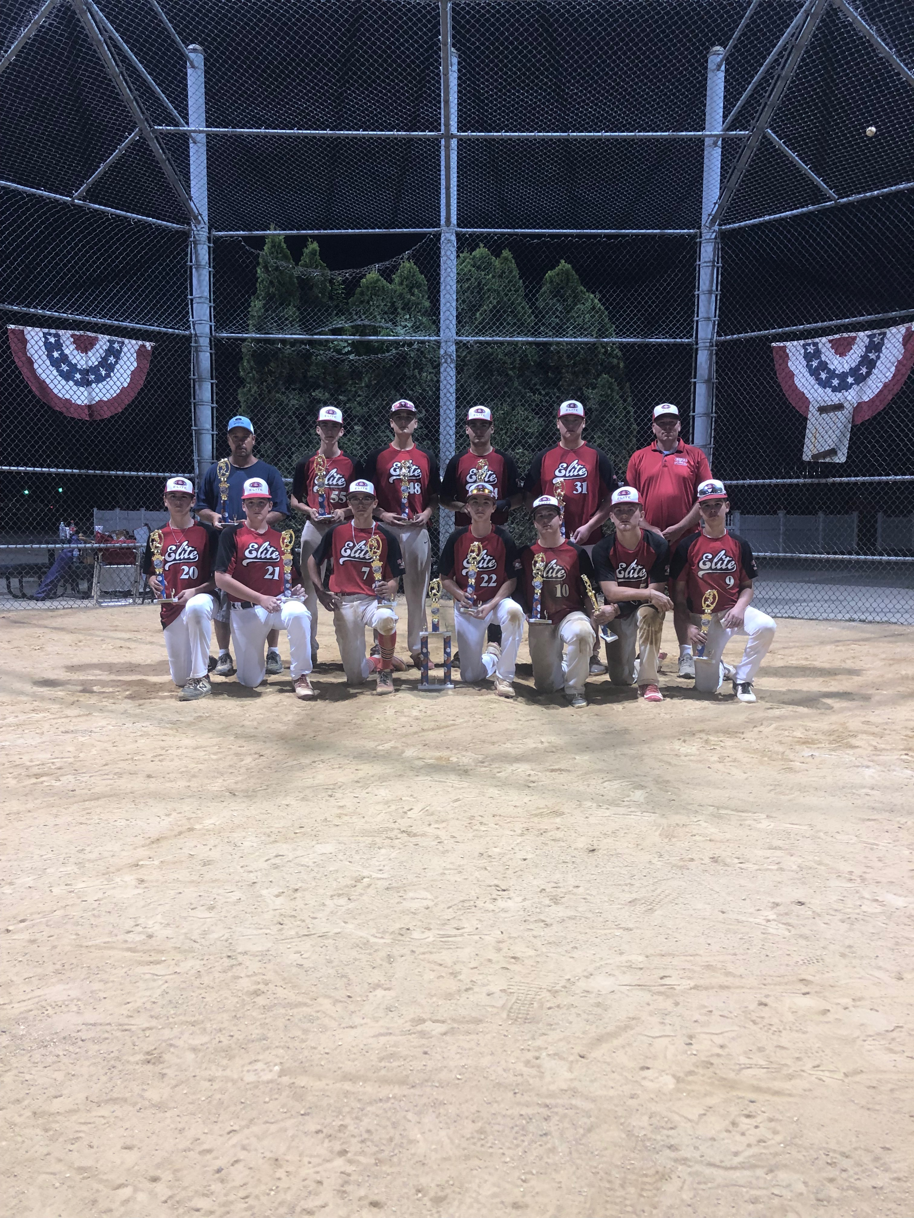 PBR Invitational Champs! Hicksville Elite Cary
