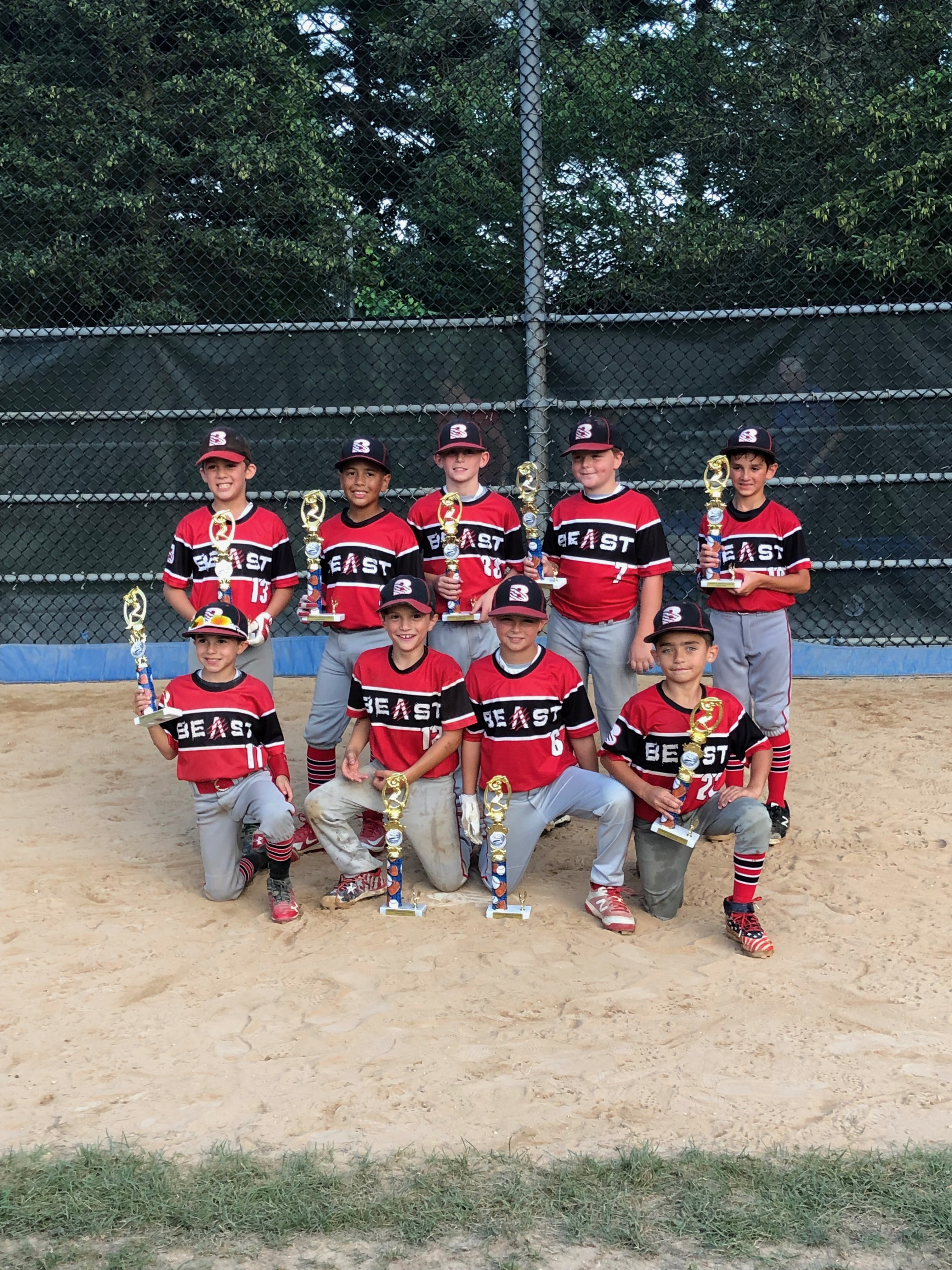 Congratulations to the 2019 Hot Stove Summer League Champions! 8u American- Team Beast
