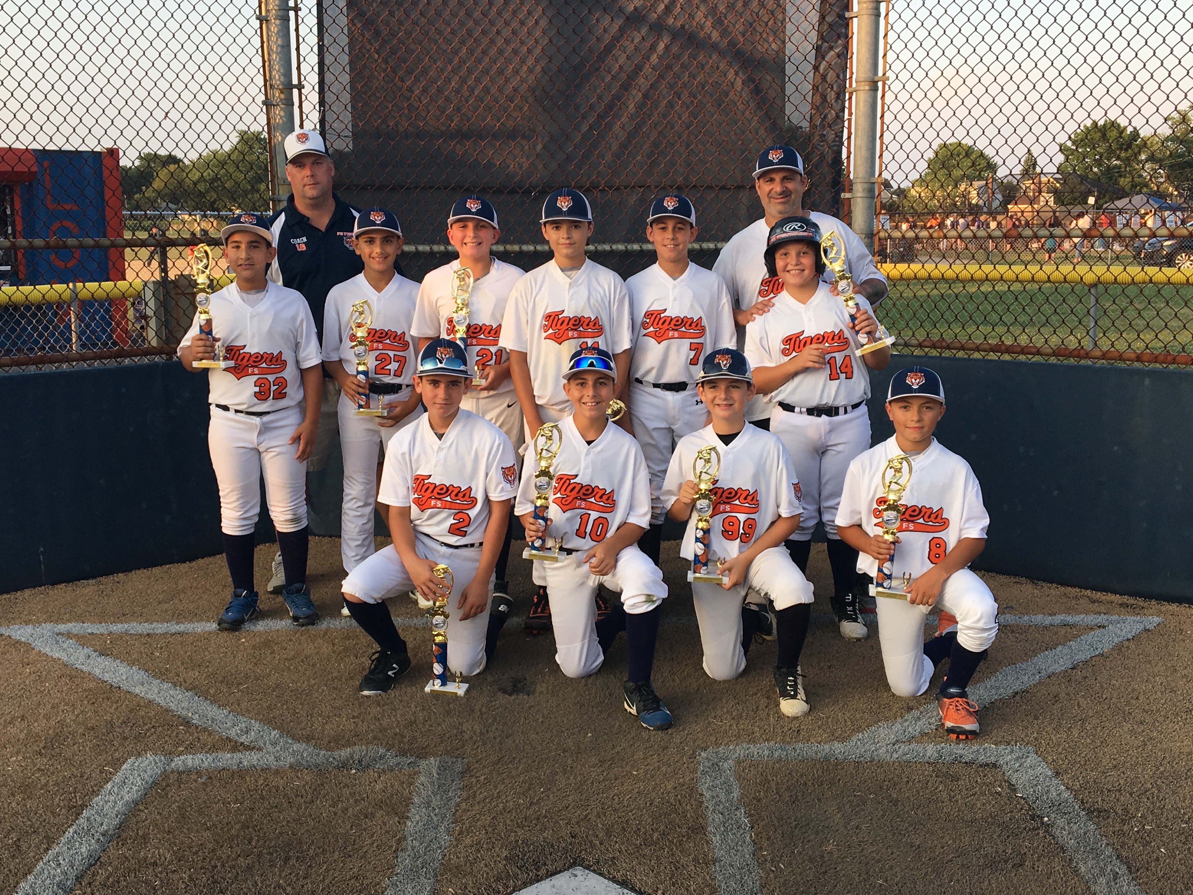 Hot Stove Summer League Champs- 11u National FS Tigers